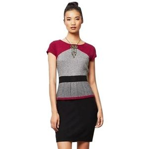 Sparrow Peplum Sweater Dress